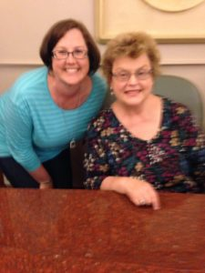 Mirah and Charlaine Harris